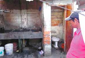 Las condiciones sanitarias de los Emberá son pésimas