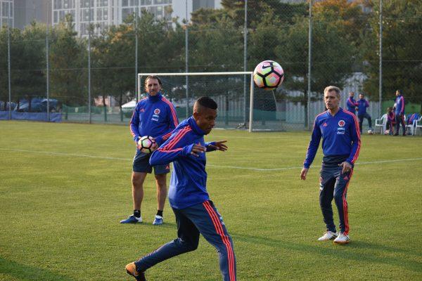 Entrenamiento Selección Colombia. Crédito: Federación Colombiana de Fútbol