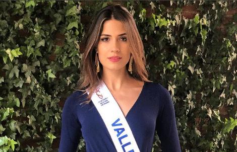 Gabriela Tafur, Señorita Colombia 2019.   Crédito Instagram Grabiela Tafur.